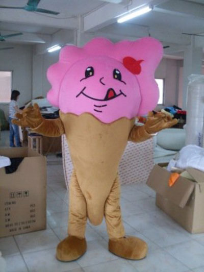 Funny Ice Cream Mascots