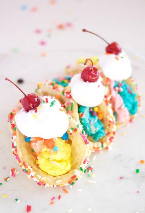 Ice Cream Tacos - A Taste Harmony